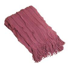 Ruffle Throw Blanket