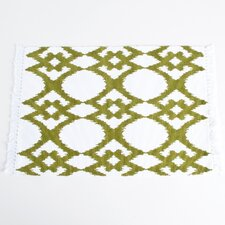 Madelyn Ikat Design Ribbed Placemat (Set of 4)