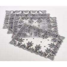 Najmina Hand Beaded Design Placemat (Set of 4)