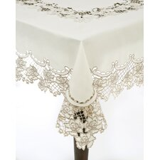 Embroidery & Cutwork Tablecloth