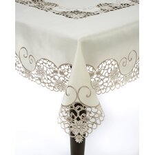 Embroidery and Cutwork Tablecloth