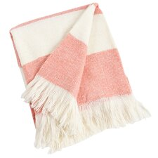 Striped Design Acrylic Throw Blanket