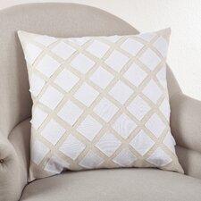 Appliqué Design Cotton Throw Pillow