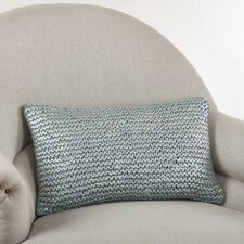 Cassandra Knitted Cotton Lumbar Pillow
