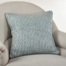 Cassandra Knitted Cotton Throw Pillow