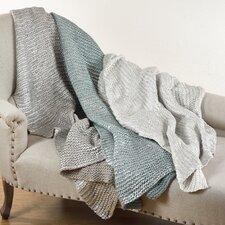 Cassandra Knitted Design Throw Blanket