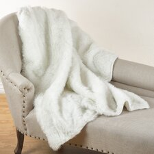 Juneau Faux Fur Throw