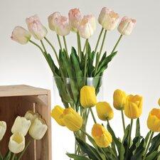 Faux Botanicals Long Stem Tulips (Set of 12)