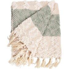 Nubby Design Striped Throw Blanket