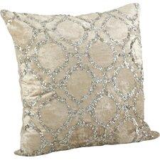 Sparkling Velvet Sequined Cotton Throw Pillow