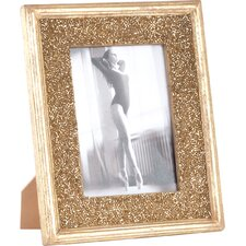 Bejeweled Seed Bead Design Picture Frame