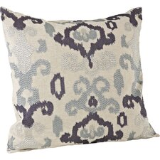 Lili Anna Embroidered Throw Pillow