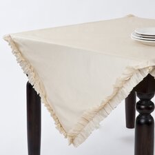 Ruffle Design Topper Tablecloth