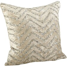 Sparkling Velvet Sequined Cotton Throw Pillow