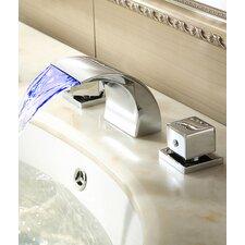 Double Handles Deck Mount Tub Faucet