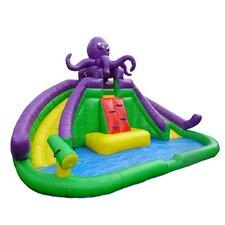 Jump N' Slide Wet Dry Combo Bounce House