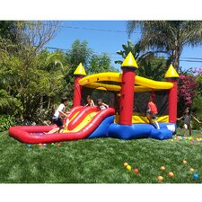 "Kiddo Jump ""N"" Water Slide Fun Bounce House"