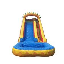 18' Dino Fun Super Wet/Dry Slide