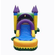 13'x30' Jungle Zoo Mega Wet Dry Combo Bounce House