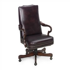 Evanston Leather Executive Chair