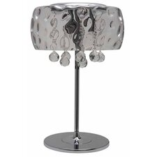Water Table Lamp with Drum Shade