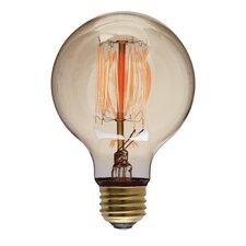 40W 110-130V G80 Light Bulb