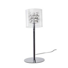 """Elsa 15"""" H Table Lamp with Drum Shade"""