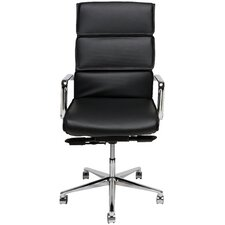 Lucia High-Back Executive Chair with Arms