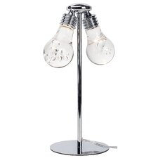 """Florian 15.5"""" H Table Lamp with Globe Shade"""