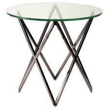 Lattice End Table