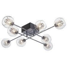 Estelle 8 Light Semi Flush Mount