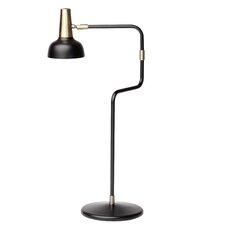 "Emmett 22"" H Table Lamp with Bell Shade"