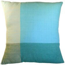 Four Colors Artisan Crafted Cotton Throw Pillow