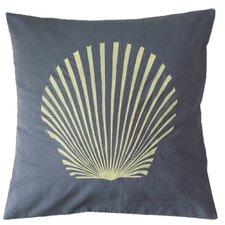 Sanibel Island Shell Cotton Throw Pillow