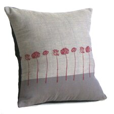 Moonbound Stems Cotton Throw Pillow