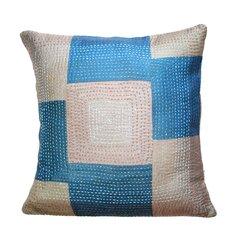 Geneva Artisan Crafted Silk Throw Pillow