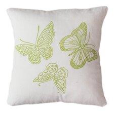 Butterflies Indoor/Outdoor Throw Pillow