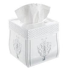 Freestanding Square Tissue Box Cover