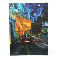 """Cafe Terrace"" Painting Print on Wrapped Canvas by Vincent Van Gogh"