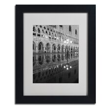 """Venetia Reflection"" by Moises Levy Framed Photographic Print"