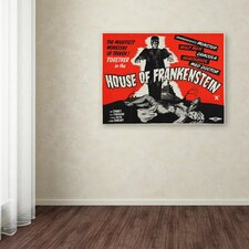 """Apple """"House of Frankenstein"""" Vintage Advertisement on Wrapped Canvas"""