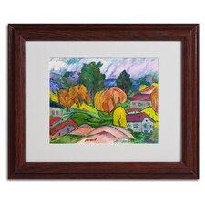 """Haiku"" by Manor Shadian Framed Painting Print"