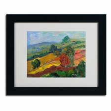 """Napa 2"" by Manor Shadian Framed Painting Print"