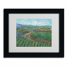 """""""Cherry Trees"""" by Manor Shadian Framed Painting Print"""