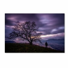 """The Tree of Love Grenoble"" by Mathieu Rivrin Photographic Print on Wrapped Canvas"