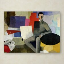 """""""The Architect"""" by Roger de La Fresnaye Painting Print on Wrapped Canvas"""