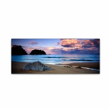 """Kaiteriteri Sunset"" by David Evans Photographic Print on Wrapped Canvas"
