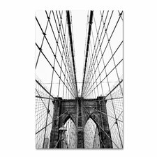 """Brooklyn Bridge 3"" by CATeyes Photographic Print Gallery Wrapped on Canvas"