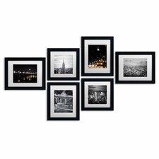 Urban 6 Piece Framed Photographic Print Art Set