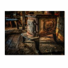 """""""Liberty Wood Stove"""" by Lois Bryan Photographic Print on Wrapped Canvas"""